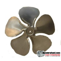 "Fan Blade 12"" Diameter - SKU:FB-1200-5-R-A-CW-010-B-001-Q3-Sold in Quantity of 3"