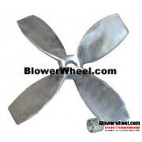 "Fan Blade 12"" Diameter - SKU:FB12-4-CW-024CAST-001-Q1-Sold in Quantity of 1"