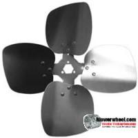 """Fan Blade 12"""" Diameter - SKU:FB1200-4-CW-19P-H-HD-002-Q2-Sold in Quantity of 2"""
