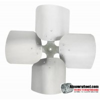 "Fan Blade 24"" Diameter - SKU:FB2400-4-CCW-13P-H-HD-002-Q1-Sold in Quantity of 1"