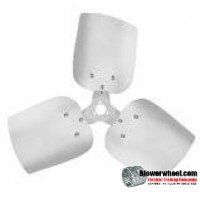"Fan Blade 30"" Diameter - SKU:FB3000-3-CW-27P-A-HD-002-Q1-Sold in Quantity of 1"