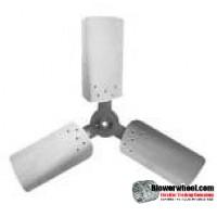 """Fan Blade 36"""" Diameter - SKU:FB3600-3-CW-27P-H-HD-002-Q1-Sold in Quantity of 1"""