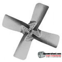 "Fan Blade 24"" Diameter - SKU:FB2400-4-CW-27P-H-XHD-002-Q1-Sold in Quantity of 1"