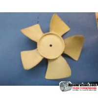 "Fan Blade 6.5"" Diameter - SKU:FB0616-5CWP-2pieces-099-Q2-Sold in Quantity of 2"