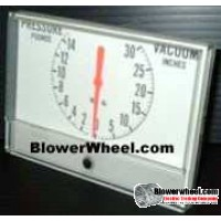 Gauge - Surplus - Pressure Vacuum Gauge Panel 61465418B17 -sold as SWNOS