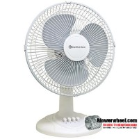 "Oscillating 12"" Desk-Tabletop Fan"