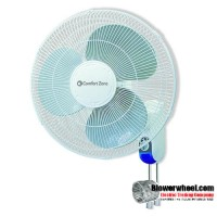 "Non-Oscillating 16"" Wall Mount Fan"