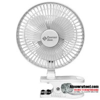 "Non-Oscillating 6"" Clip-On Fan"