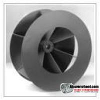Custom Made Shrouded Radial Blade Blower Wheels - Please Contact Us With Your Requirements