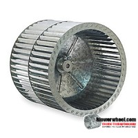 Custom Made Forward Curve Squirrel Cage Blower Wheels - Please Contact Us With Your Requirements