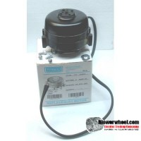 Electric Motor - Unit Bearing Refrigeration Fan Motor - Fasco - UB597 -1/100 hp 1550 rpm 208-230/115 volts