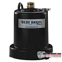 Blue Angel Pump Model 25SU- 1/4 HP Fully Submersible Heavy Duty Multi-Purpose Pump Sold In Quantity of 1