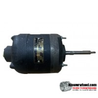 Electric Motor - General Purpose - Ohio Electric - Ohio-700-4xs-3190-a -1/20 hp 345 rpm 115VAC volts -Resilient Base Double Shaft- SOLD AS IS