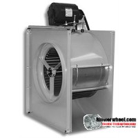 Blower HVAC FGP 30-15K (CCW)-MOTOR NOT INCLUDED