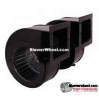 Blower Double Unit Blower AOS#9486 twin 115VAC