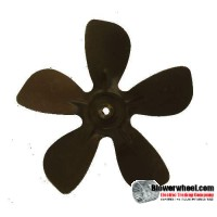 "Fan Blade 8"" Diameter - SKU:FB-0800-5-F-A-CW-010-B-001-Q1-Sold in Quantity of 1"