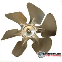 "Fan Blade 8"" Diameter - SKU:FB-0800-6-F-A-CW-010-C-001-Q1-Sold in Quantity of 1"