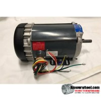 Electric Motor - Explosion Proof - Marathon - G657/056C17G5317 -3/4 hp 1725 rpm 115/208-230VAC volts