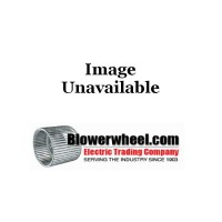 "Double Inlet Steel Blower Wheel 9-7/8"" D 6-1/8"" W 1/2"" Bore-Clockwise  rotation- with inside hub OFFSET Backplate Wheel 1-9/16 inch back, 4-1/2 inch inlet side SKU: 09280600-016-HD-S-CW-OFFSET"
