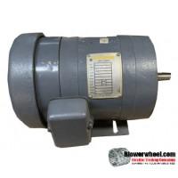 Electric Motor - General Purpose - baldor - Baldor-27-382-1987 -'¼ hp 1750 rpm 90A/100VDC volts - SOLD AS IS