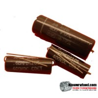 Capacitor - unknown - cap-.68mdf -400 volts -sold as USED