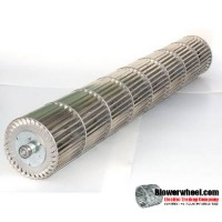 Custom Made Cross Flow  Blower Wheels - Please Contact Us With Your Requirements