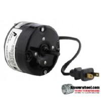Electric Motor - General Purpose - Fasco - D541 -1/100 hp 1500 rpm 115VAC volts