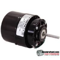 Electric Motor - General Purpose - Fasco - D672B -1/15 hp 1550 rpm 115VAC 115 volts