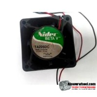 Case Fan-Electronics Cooling Fan - Nidec Torin Nidec-Torin-BETAV-TA225DC-Sold as RFE
