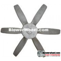 "Fan Blade 27"" Diameter - SKU:FB27-6-CW-024CAST-001-Q1-Sold in Quantity of 1"